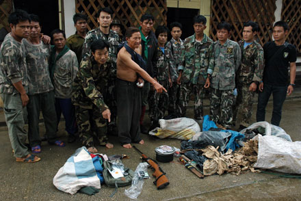 "Jail Time for Thailand's ""Cell Phone"" Tiger Poachers - Wildlife Conservation Society"