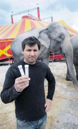 Spaniard fighting for his life after Baby the elephant crushed him in Cork circus | Irish News | IrishCentral