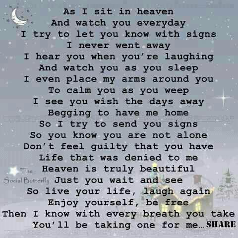 Miss you from heaven